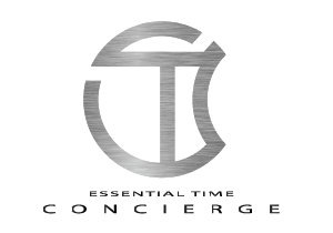 essential time concierge logo design by fardesign.uk